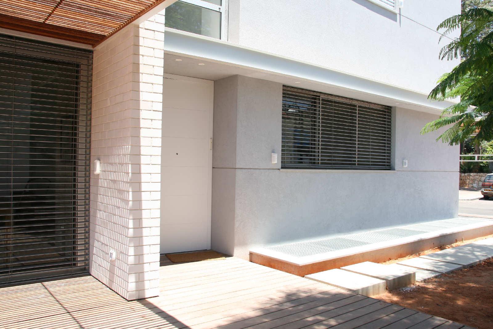 תכנון בתים ברמת השרון. בחירת חומרי גמר