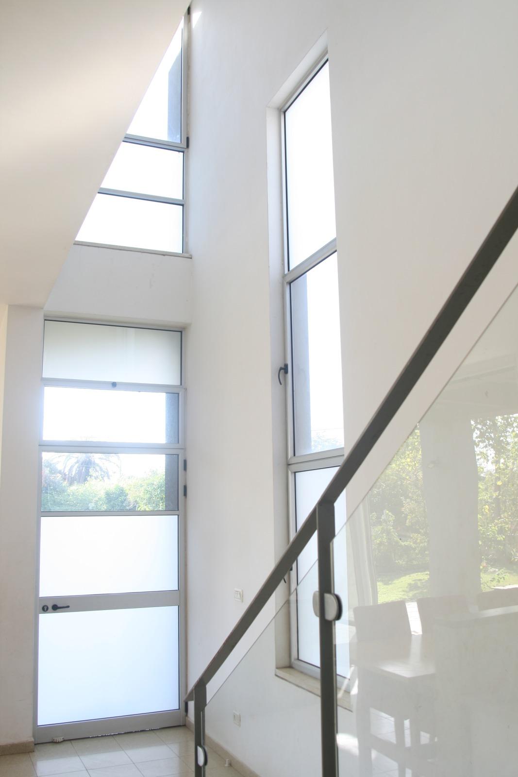 אדריכלות מודרנית. חלל כפול ואור טבעי