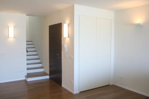 עיצוב מדרגות ורצפת עץ
