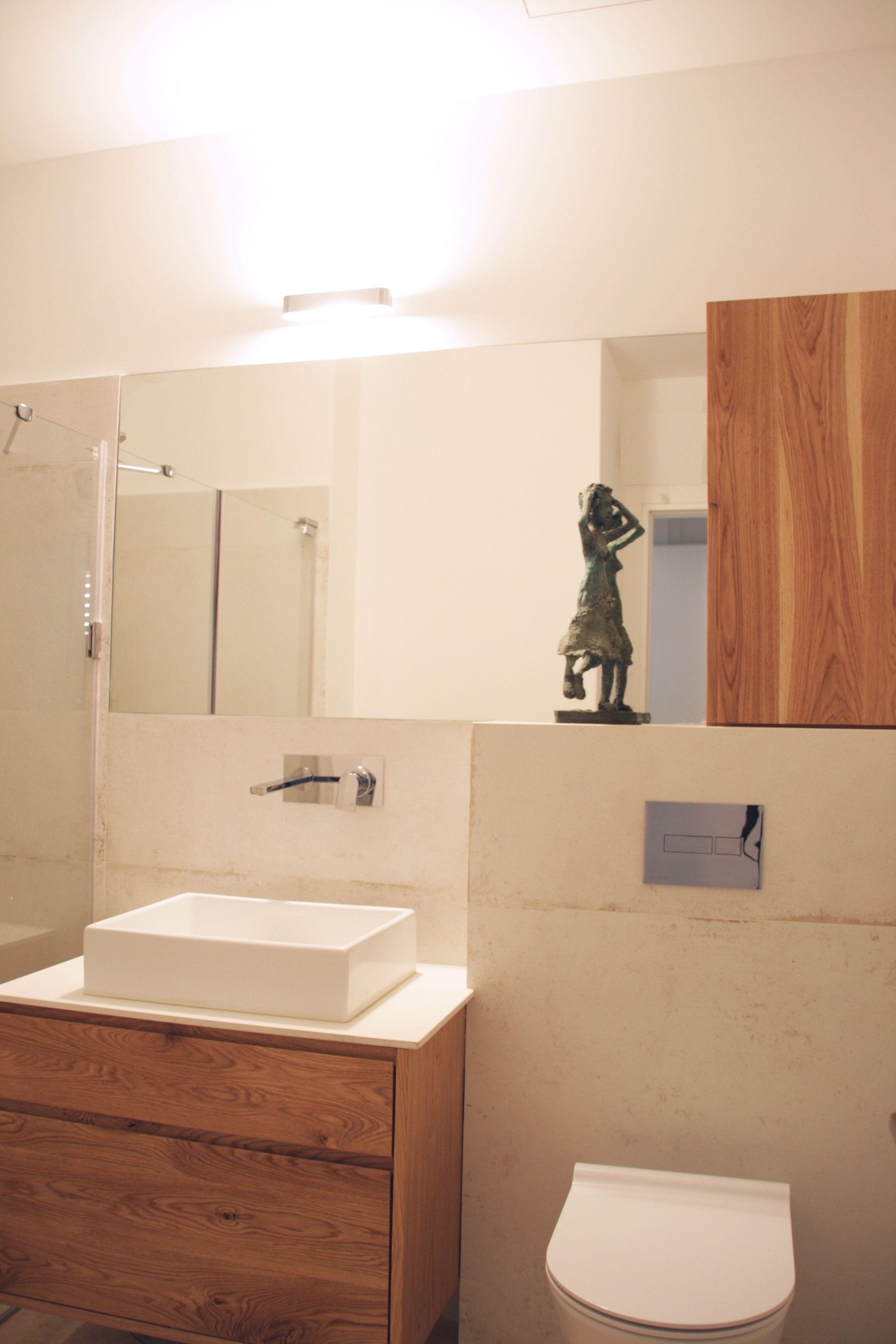 תכנון מקלחת הורים. נגרות בהזמנה