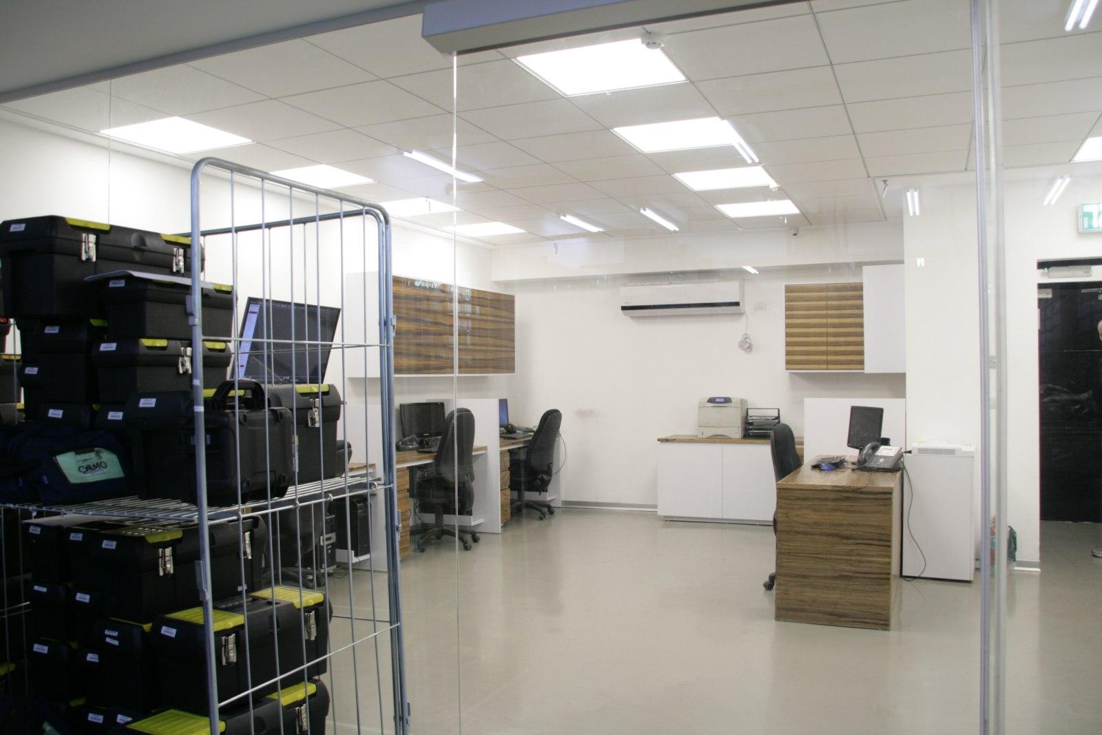 עיצוב משרד במרכז